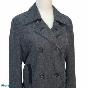 Luisa Cerano Wool Lined Bomber Jacket 6
